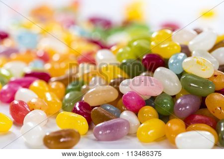 Colorfull Jelly Bean Background