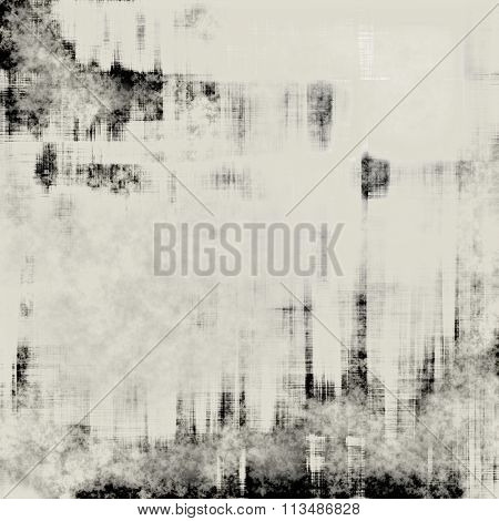 art abstract geometric monochrome black, grey and white graphic and watercolor background