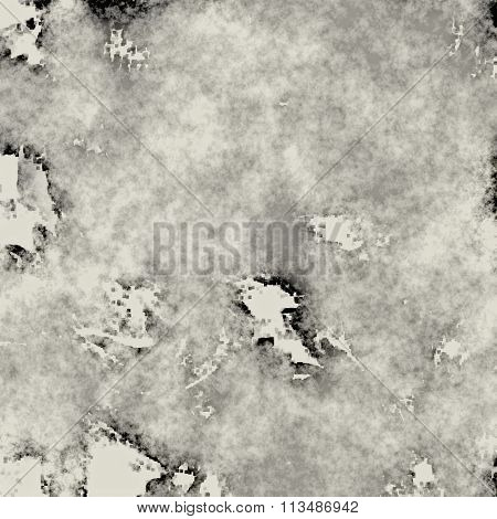 art abstract monochrome black, grey and white graphic and watercolor background; seamless geometric pattern