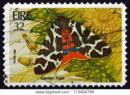 Postage Stamp Ireland 1994 Garden Tiger Moth