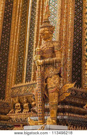 Buddhist golden demon.