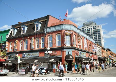 Byward Market in downtown Ottawa