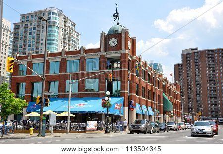 Byward Market in downtown Ottawa