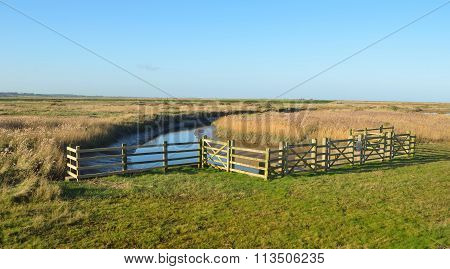 Cley marshes north Norfolk.