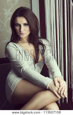 Sexy Girl Indoor