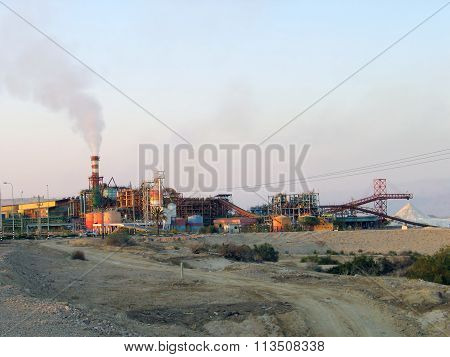 Chemical Plants Dead Sea