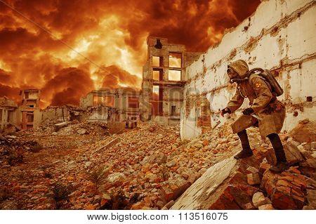 Nuclear apocalypse survivor