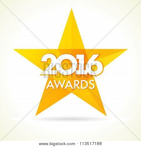 2016 awards star logo