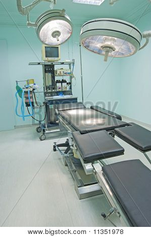 Operating Room In A Medical Centre