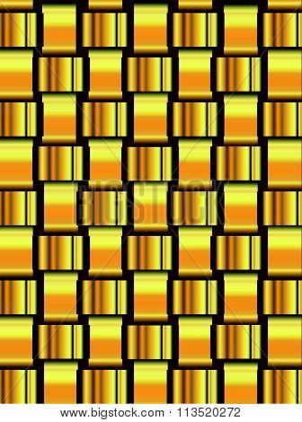 Golden Lattice Background