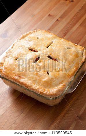 Holiday Leftover Turkey Pot Pie