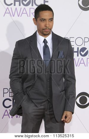 LOS ANGELES - JAN 6:  Neil Brown Jr. at the Peoples Choice Awards 2016 - Arrivals at the Microsoft Theatre L.A. Live on January 6, 2016 in Los Angeles, CA