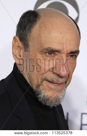LOS ANGELES - JAN 6:  F. Murray Abraham at the Peoples Choice Awards 2016 - Arrivals at the Microsoft Theatre L.A. Live on January 6, 2016 in Los Angeles, CA