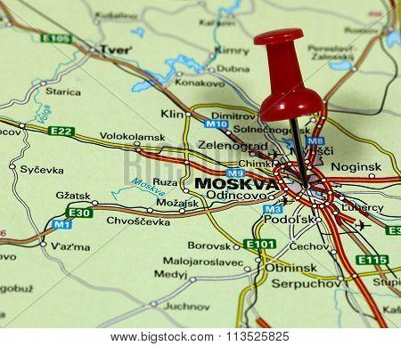 Moskva in Russia