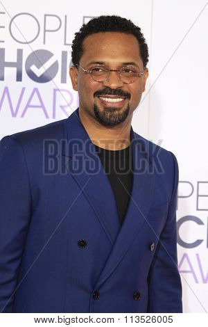 LOS ANGELES - JAN 6:  Mike Epps at the Peoples Choice Awards 2016 - Arrivals at the Microsoft Theatre L.A. Live on January 6, 2016 in Los Angeles, CA