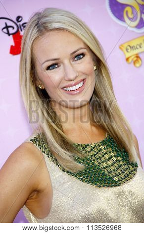 Brooke Anderson at the Los Angeles premiere of