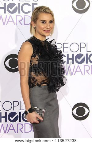 LOS ANGELES - JAN 6:  Chelsea Kane at the Peoples Choice Awards 2016 - Arrivals at the Microsoft Theatre L.A. Live on January 6, 2016 in Los Angeles, CA