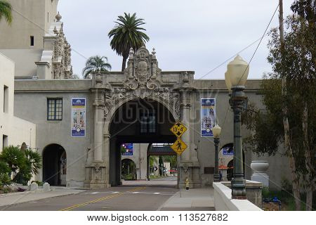 Entrance of California Quadrangle at Balboa Park