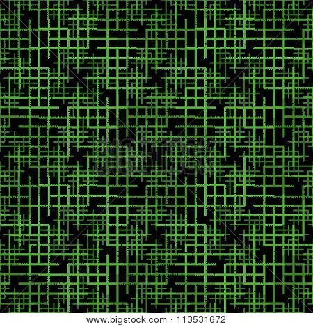 Abstract Technology Seamless Pattern With Binary Code.