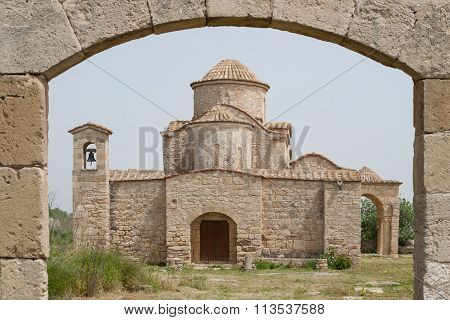 Panayia Kanakaria 6Th Century Byzantine Church Originally Containing Kanakaria Mosaics In Lythrangom