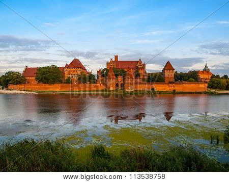 Teutonic Castle in Malbork