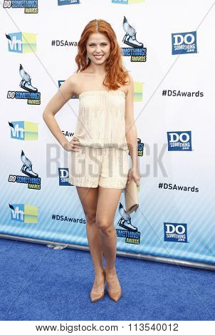 Anna Trebunskaya at the 2012 Do Something Awards held at the Barker Hangar in Los Angeles, USA on August 19, 2012.