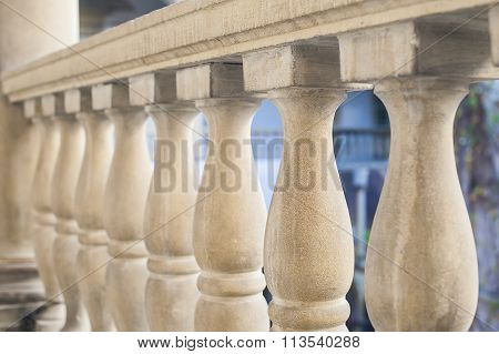 Stone Art Baroque Baluster And Staircase