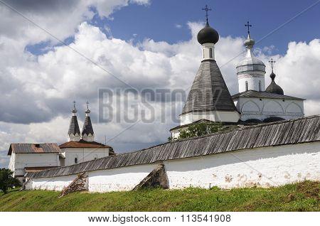 Domes Of The Ferapontov Monastery