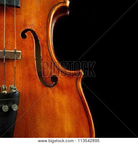 Vertical Violin Art