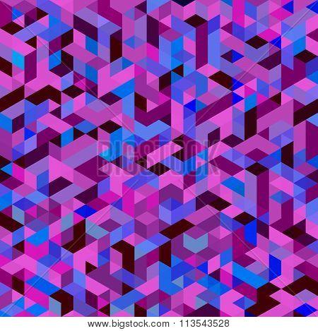 Purple Triangular