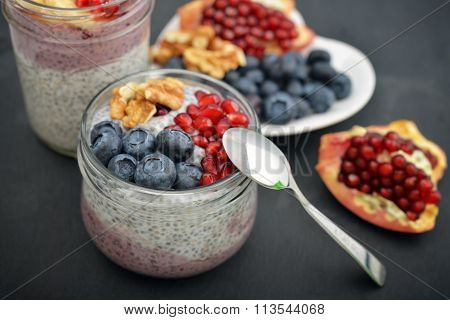 Pudding With Chia Seeds