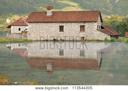 rural house on the waters of Ali-Pasha Spring in Gusinje, Montenegro