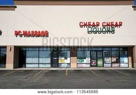 PC Massage and Cheap Cheap Liquors