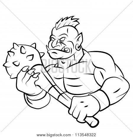 Troll Mascot