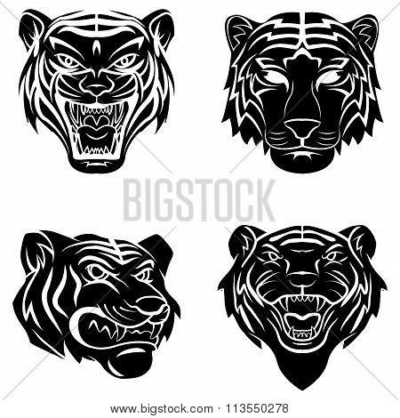Tattoo Symbol Of Tiger
