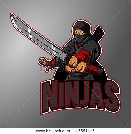 Ninjas mascot