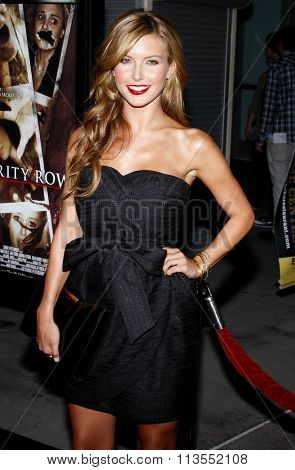 03/09/2009 - Hollywood - Audrina Patridge at the Los Angeles Premiere of