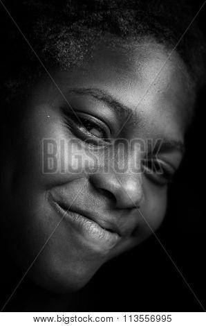 Black Side Profile