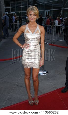 HOLLYWOOD, CALIFORNIA - August 30, 2011. Winter Ave Zoli at the Season 4 premiere of FX Network's
