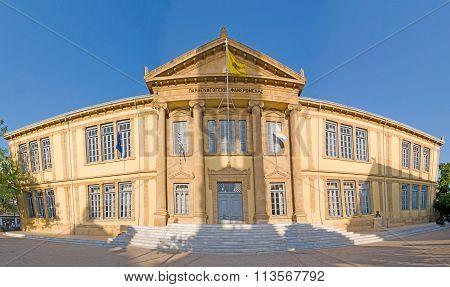 Phaneromeni Gymnasium Panorama, Old Nicosia, Cyprus
