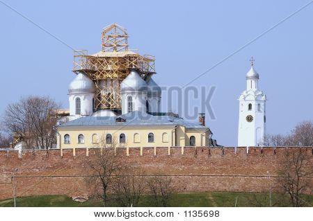 Kreml von Velikiy Novgorod, Russland