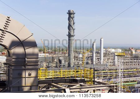 Industrial Of Refinery Tower