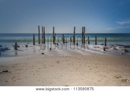 Port Willunga Jetty Ruins, South Australia