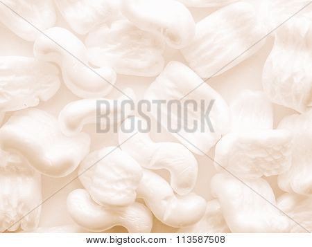 Expanded Polystyrene Beads Vintage