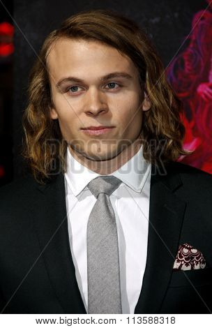 Jordan Christian Hearn at the Los Angeles premiere of