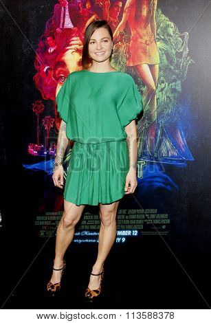 Michelle Sinclair at the Los Angeles premiere of