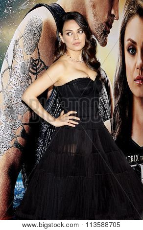 Mila Kunis at the Los Angeles premiere of