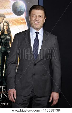 Sean Bean at the Los Angeles premiere of