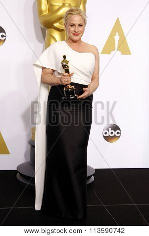 Patricia Arquette at the 87th Annual Academy Awards - Press Room held at the Loews Hollywood Hotel in Los Angeles, USA on February 22, 2015.