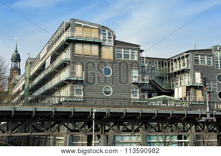 Buildings Of The Gruner + Jahr Publishing In Hamburg, Germany Fr